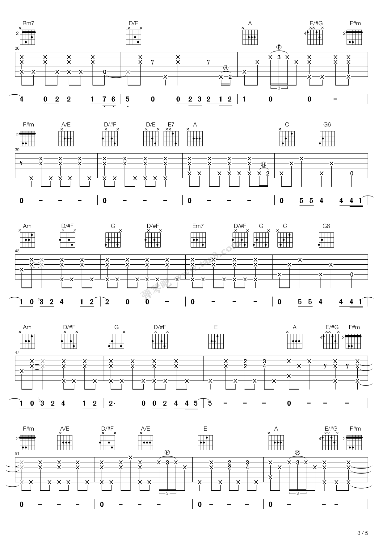 Tears In Heaven Tab by Eric Clapton Guitar Tabs Chords