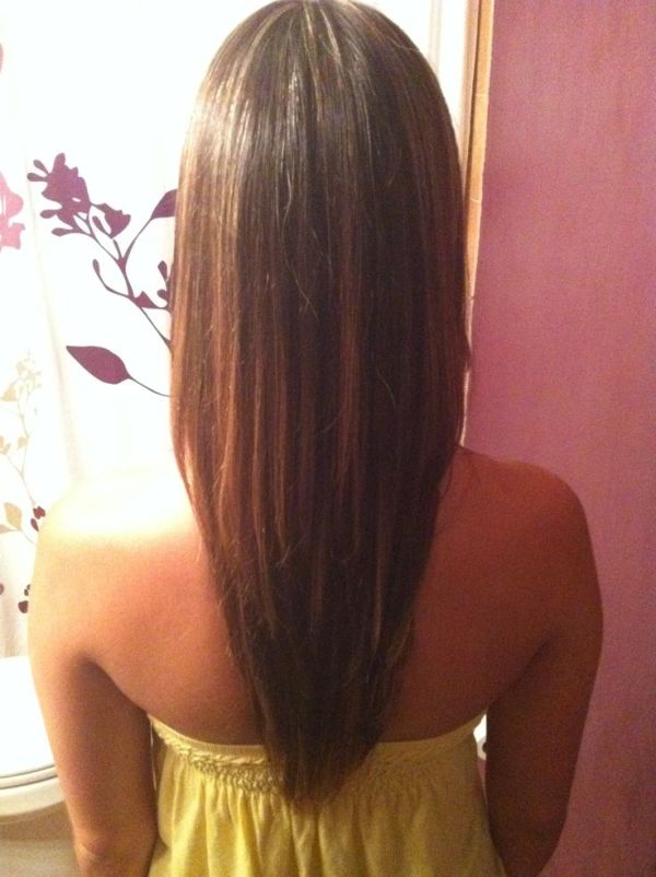 30 V Cut Long Straight Layered Hairstyles Hairstyles Ideas Walk