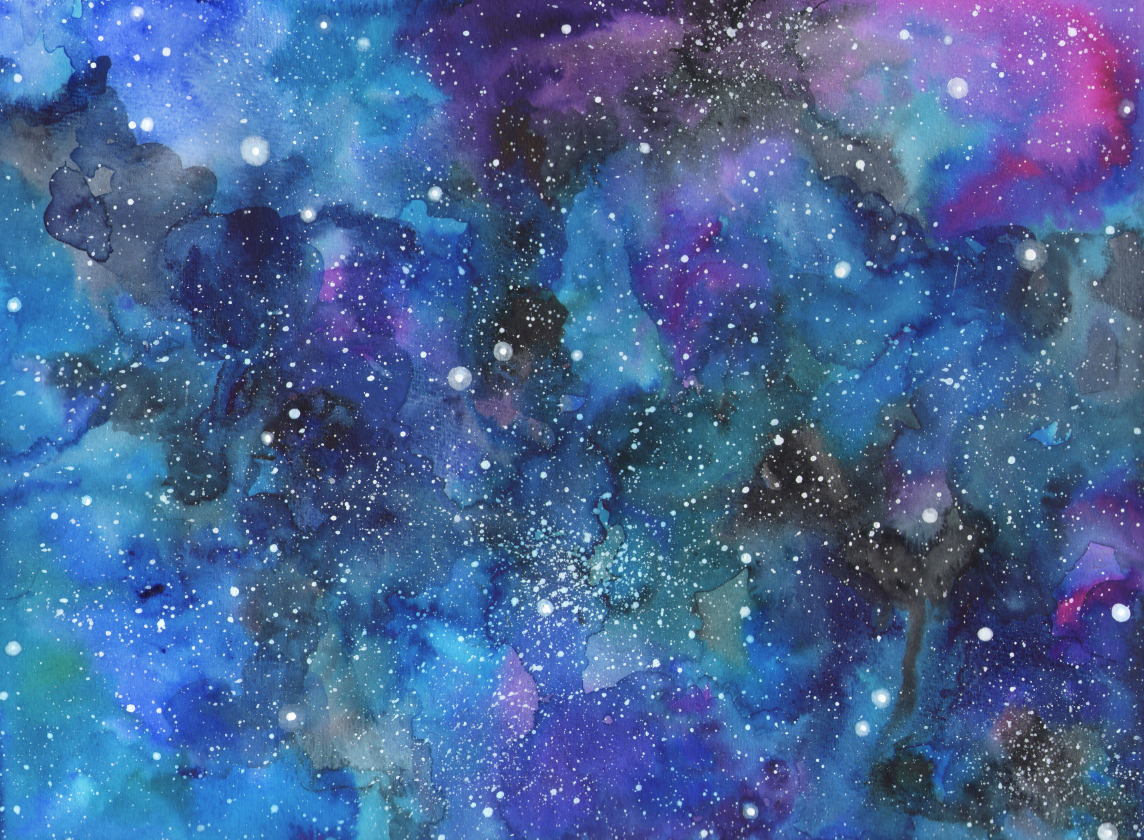 How to make a galaxy painting learn how to for How to paint galaxy