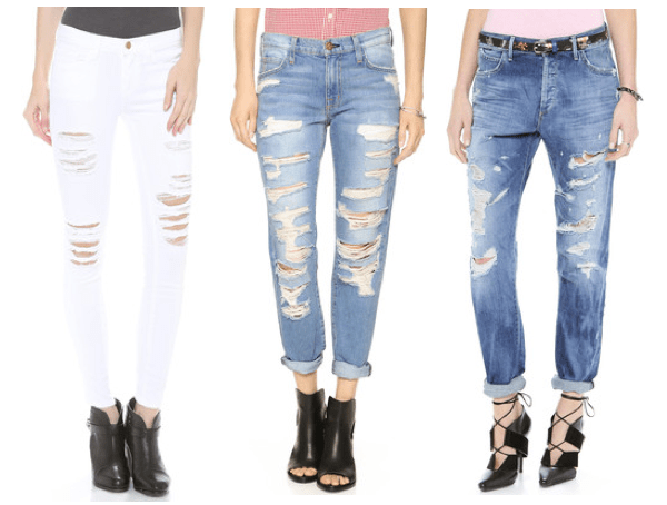 ba297cad1aa How to Distress Your Jeans At Home - Learn how to