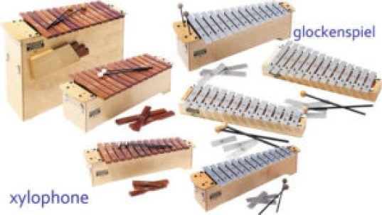 Difference Between Xylophone and Glockenspiel