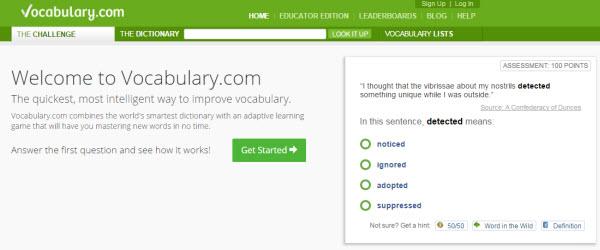 英文單字學習網站:Vocabulary.com幫你學到融會貫通   學英文   English Learning