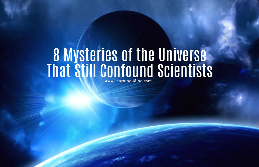 mysteries of the universe