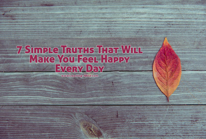 simple truths feel happy