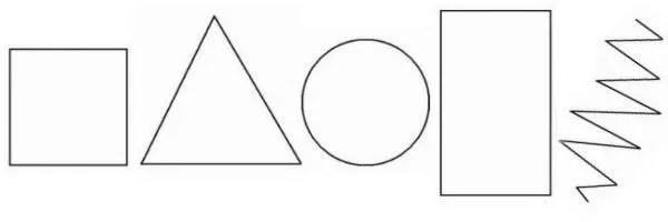 geometric shapes test