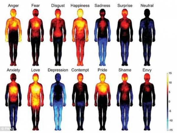 emotions map