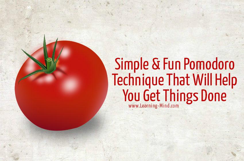 pomodoro technique productivity