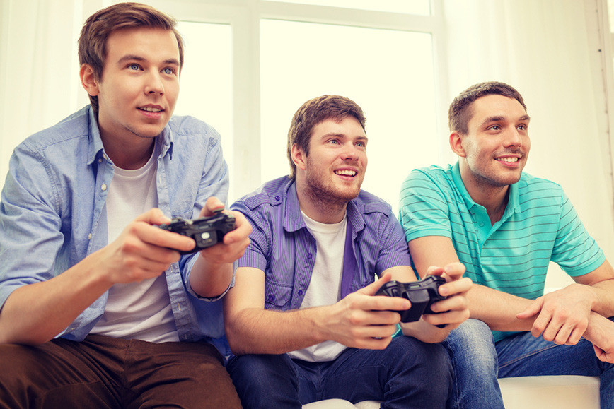 gamers more gray matter