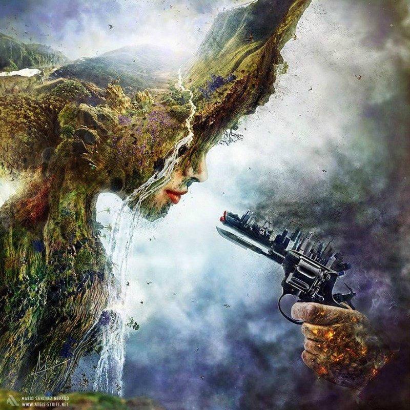 imaginative artworks betrayal