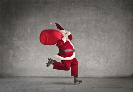 christmas traditions skating