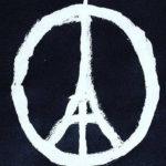 Jean Jullien peace for paris