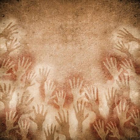 hand motif ancient cultures