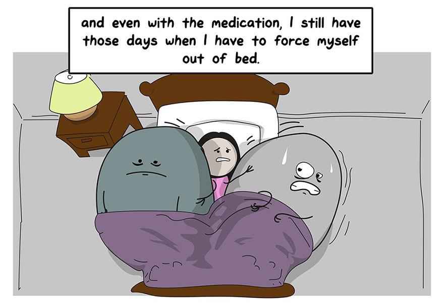 Znalezione obrazy dla zapytania depression comic