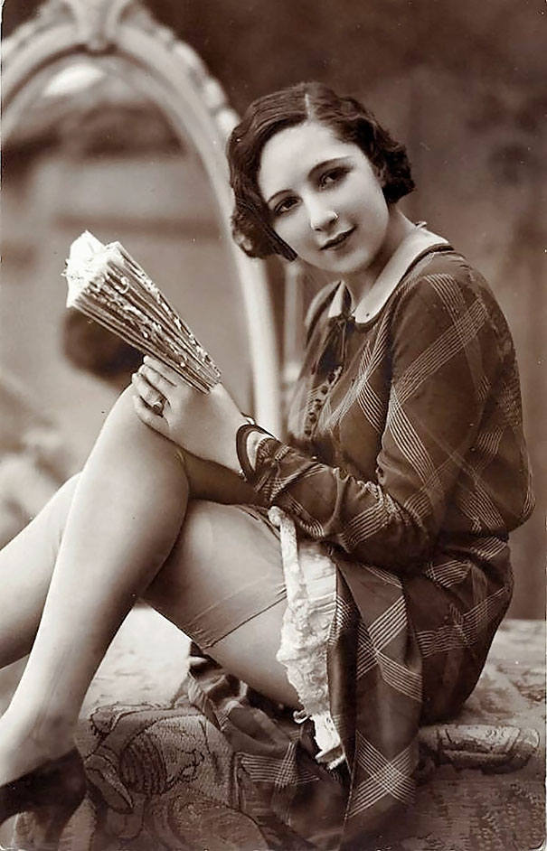 womens beauty lady with a book