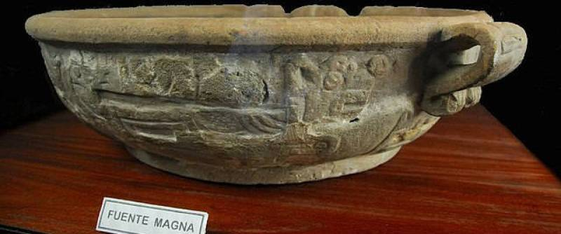 Archaeological discoveries - Fuente Magna Bowl