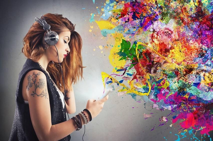Goosebumps listen to music