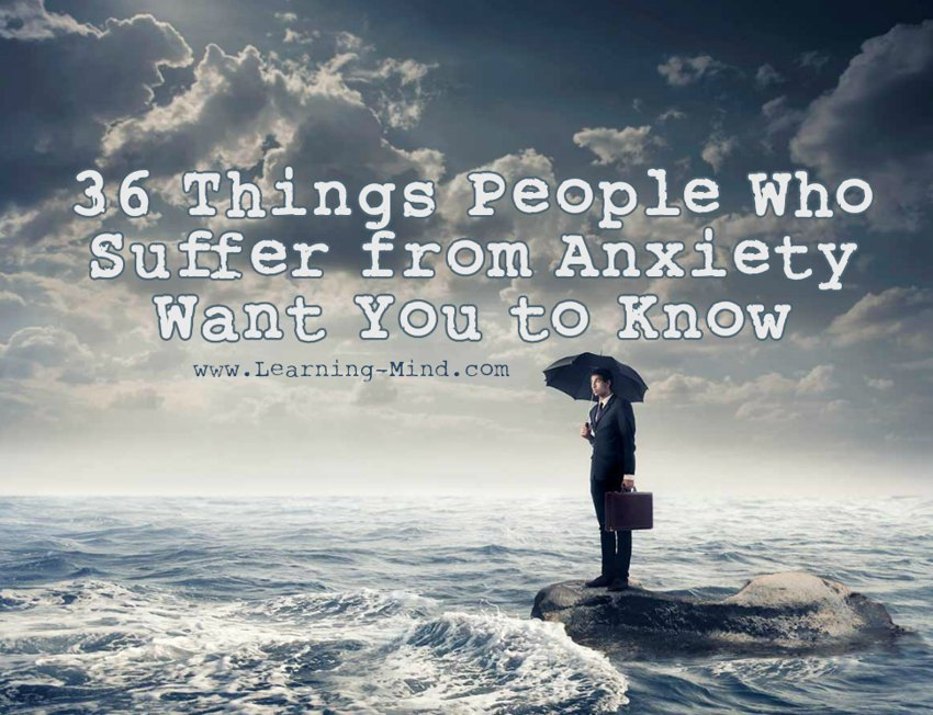 people who suffer from anxiety