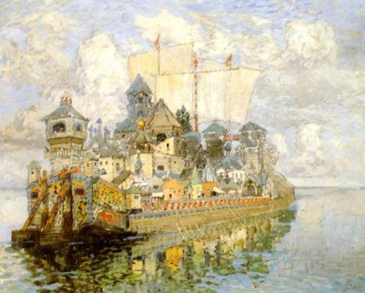 The Invisible Town of Kitezh (1913) by Konstantin Gorbatov