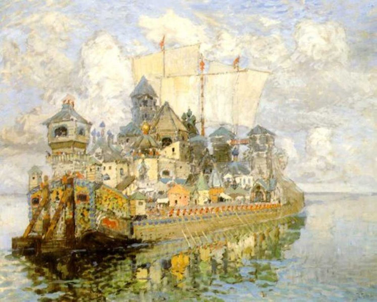The Invisible Town of Kitezh (1913) by Konstantin Gorbatov