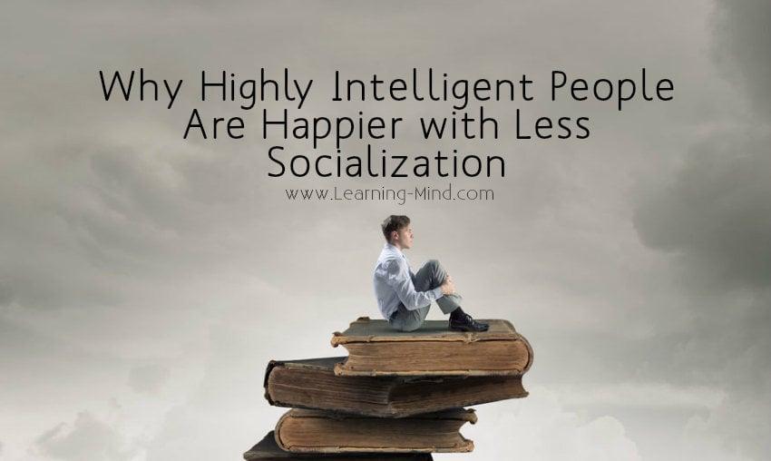 socialization intelligent people