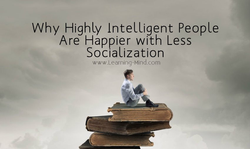 socialization intelligent people