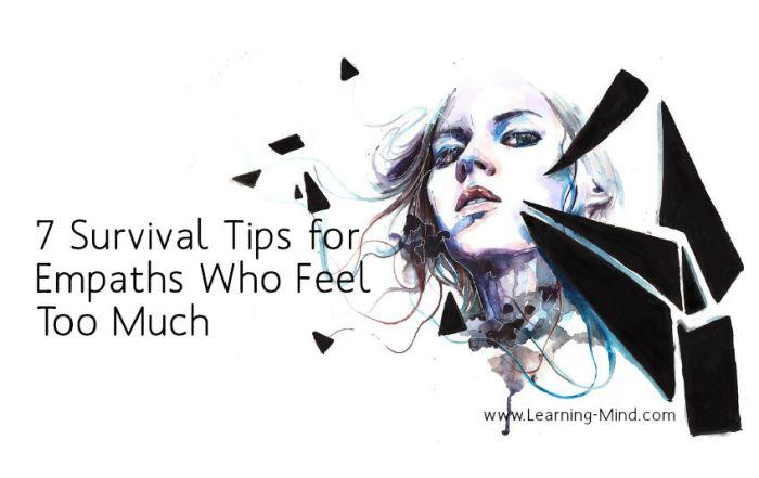 survival tips empaths