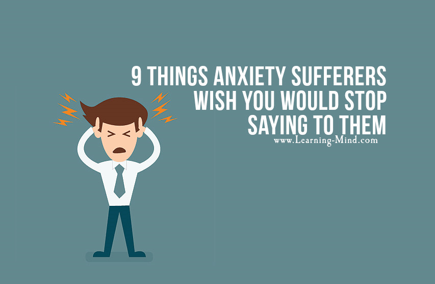 anxiety sufferers