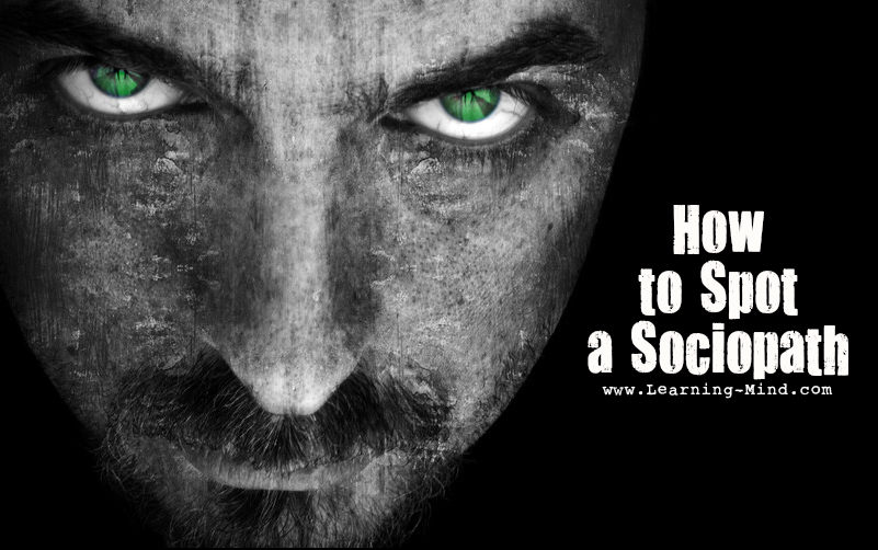 how to spot a sociopath