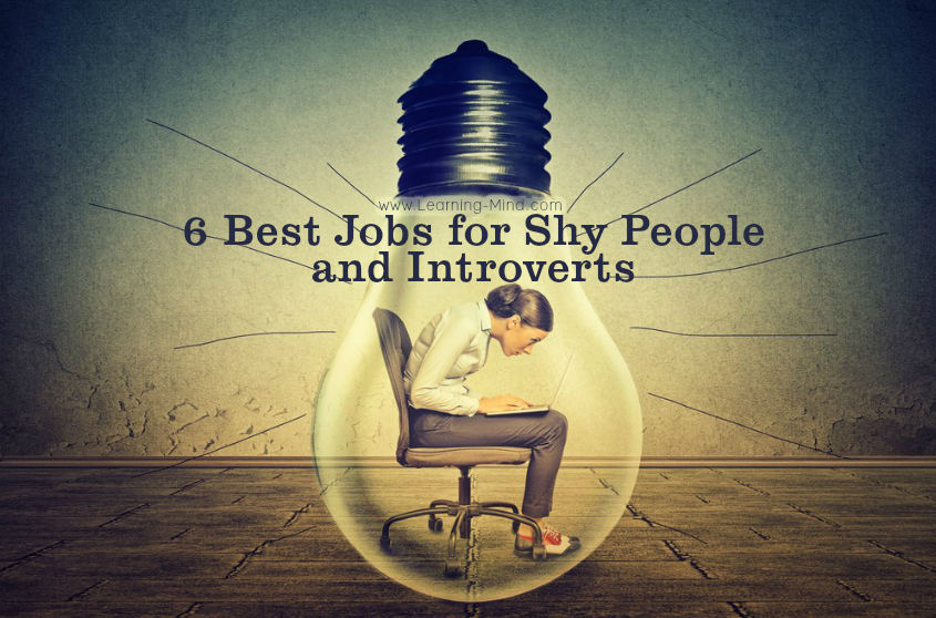 jobs for shy people introverts