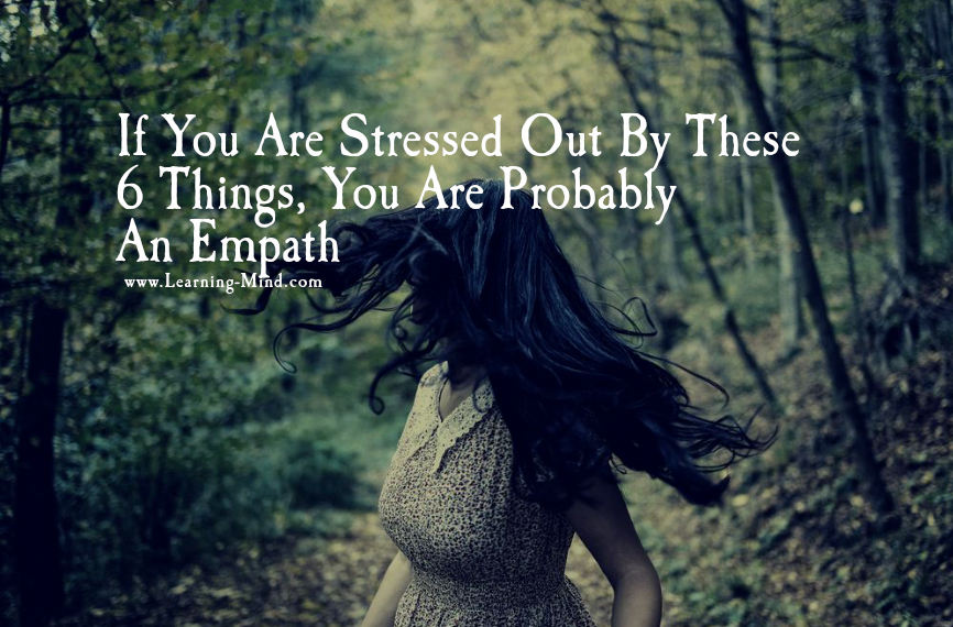 stressed out empath