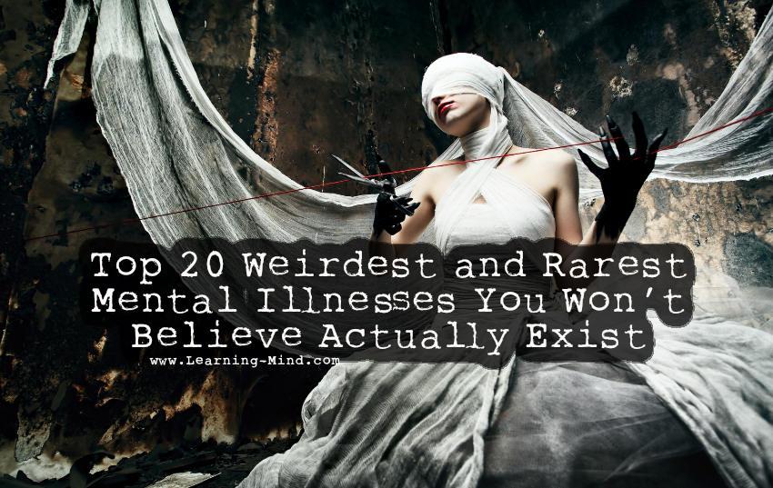 weirdest mental illnesses