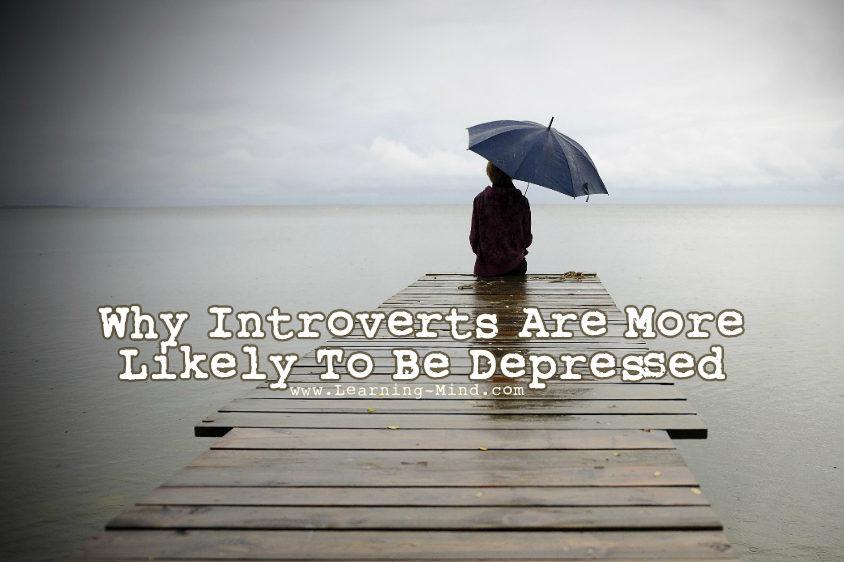 depression symptoms introverts