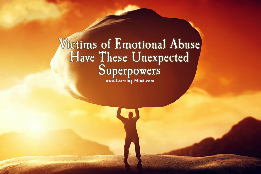 Victims of Emotional Abuse Have These Unexpected Superpowers