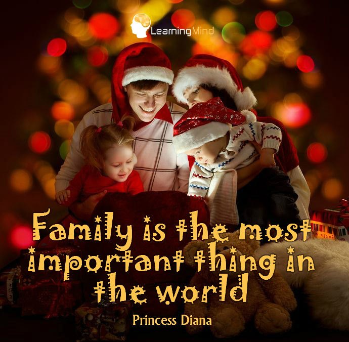 Family is the most important thing in the world.