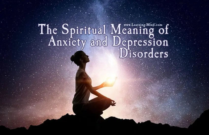 spiritual meaning anxiety depression
