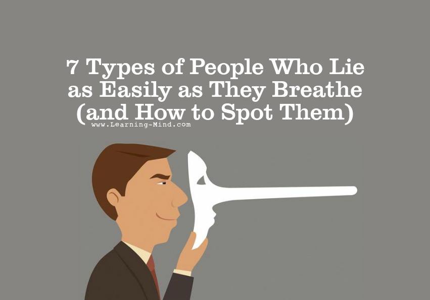 people who lie