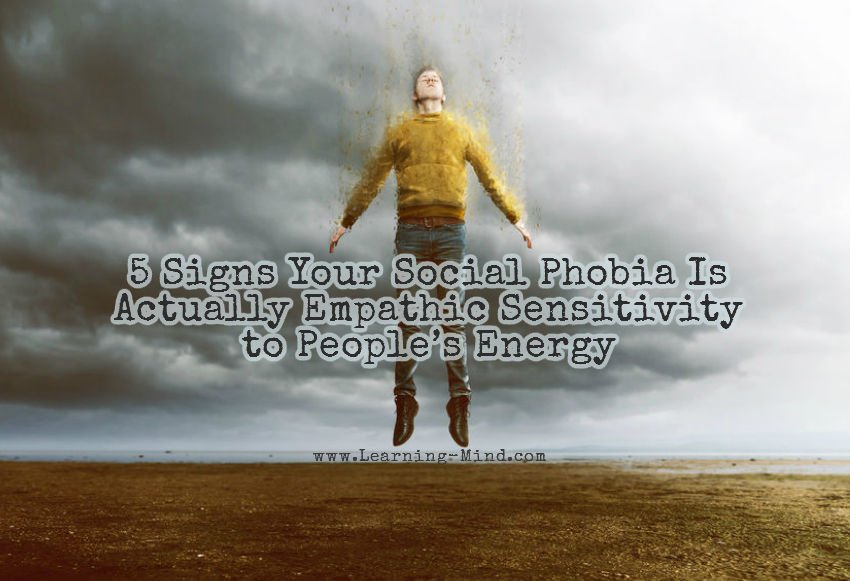 social phobia empathic sensitivity