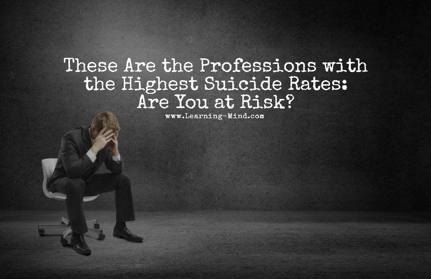 suicide rates professions