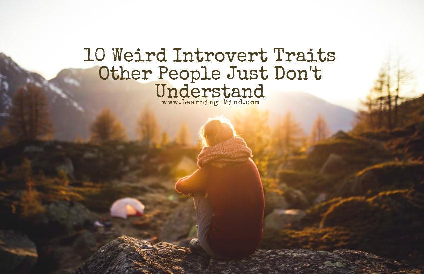 weird introvert traits