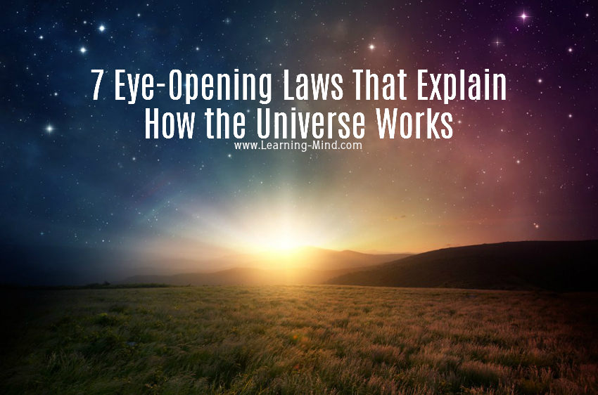 7 Eye-Opening Laws That Explain How the Universe Works How-the-universe-works