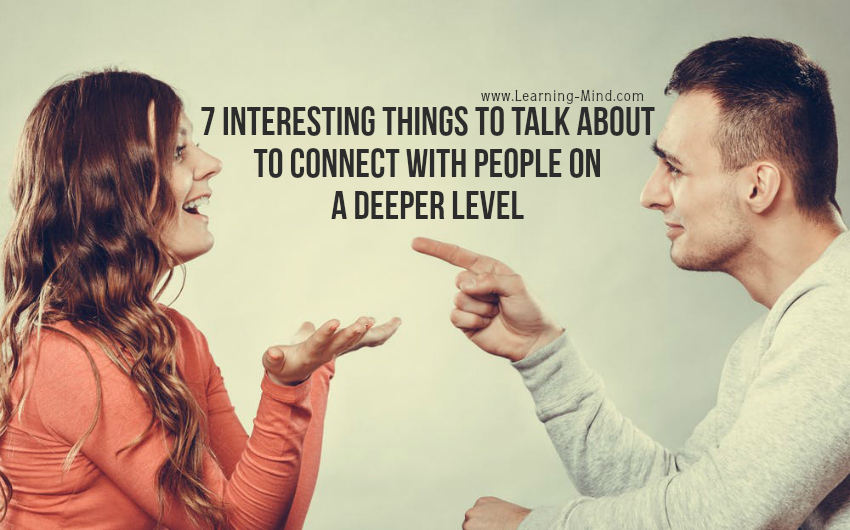 interesting things to talk about