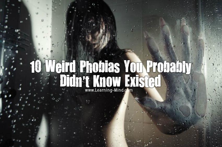 weird phobias