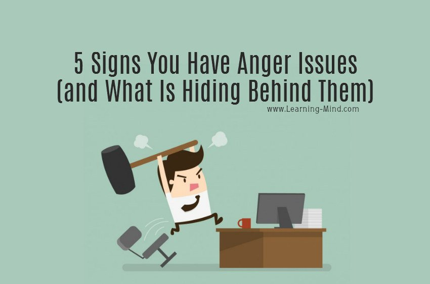 anger issues signs