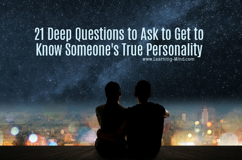 questions to ask someone