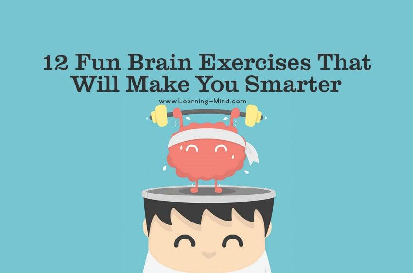 fun brain exercises