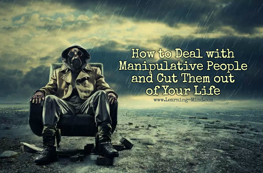 how to deal with manipulative people
