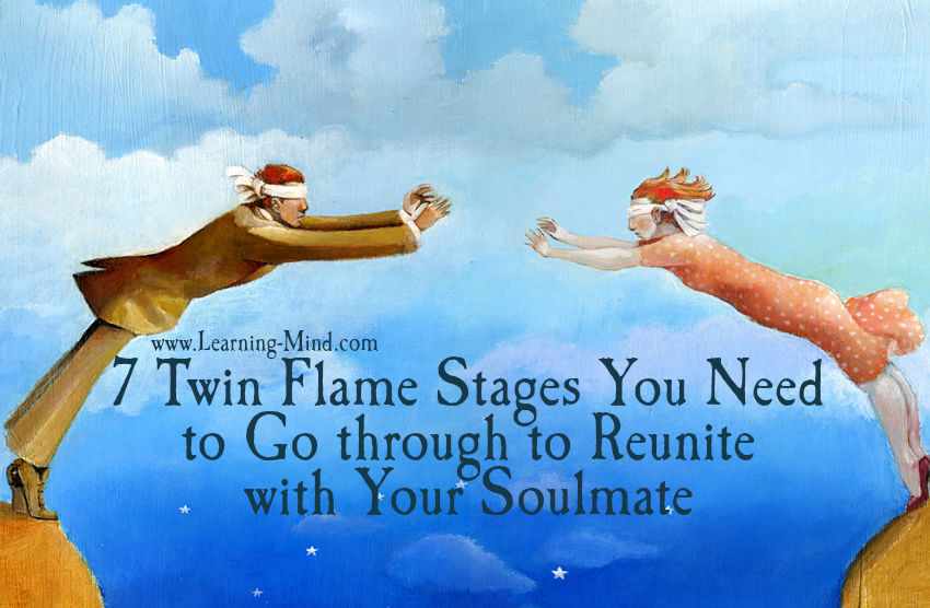 7 Twin Flame Stages You Need to Go through to Reunite with