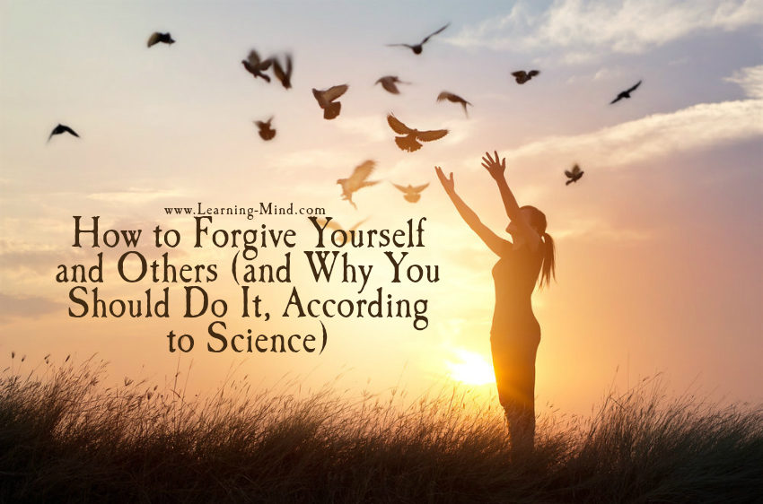 how to forgive yourself