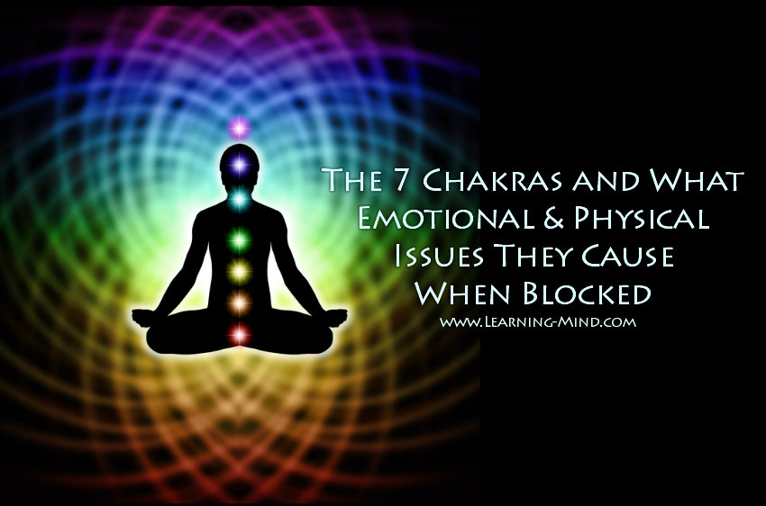 7 chakras issues