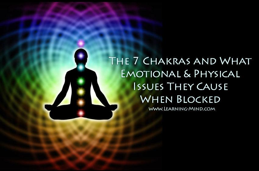 7 chakras issues